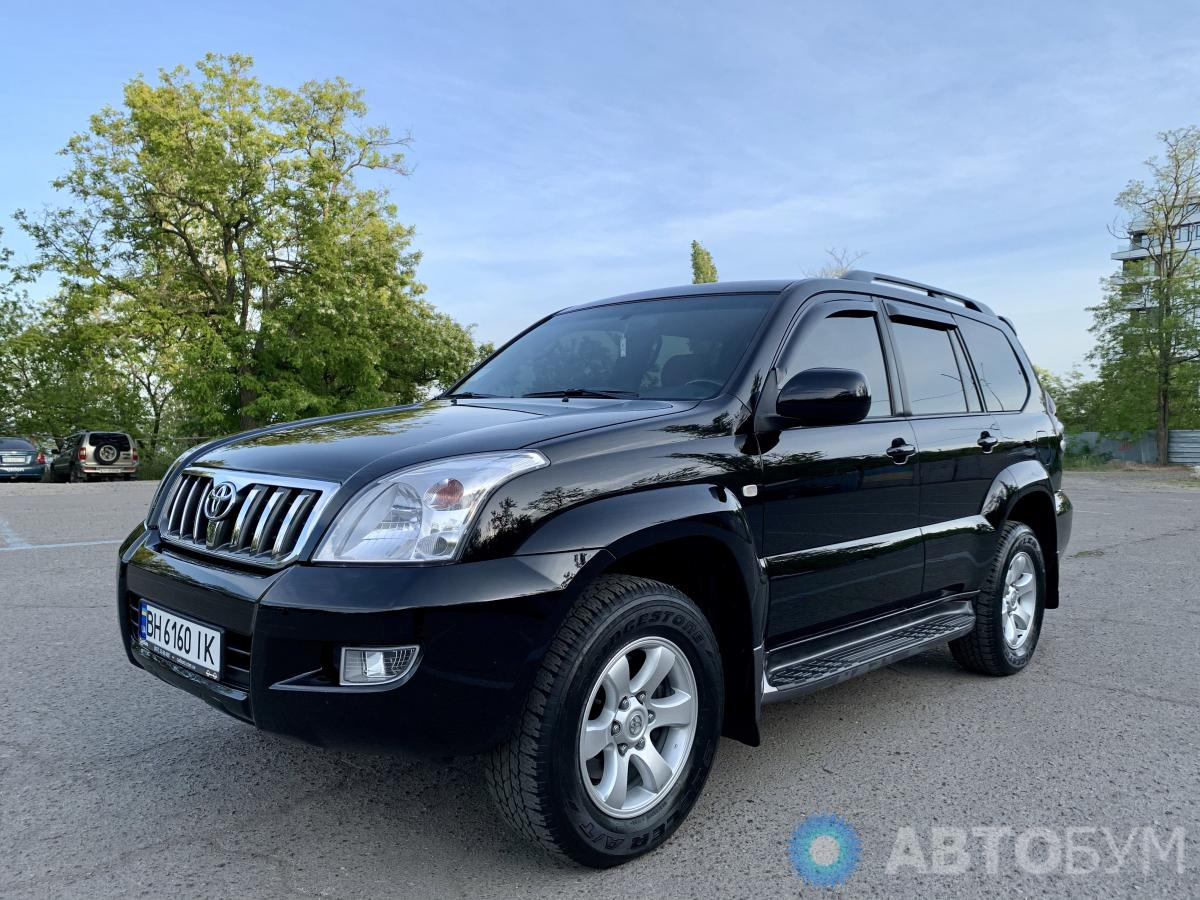 Автобум Toyota Land Cruiser Prado 2008 фото