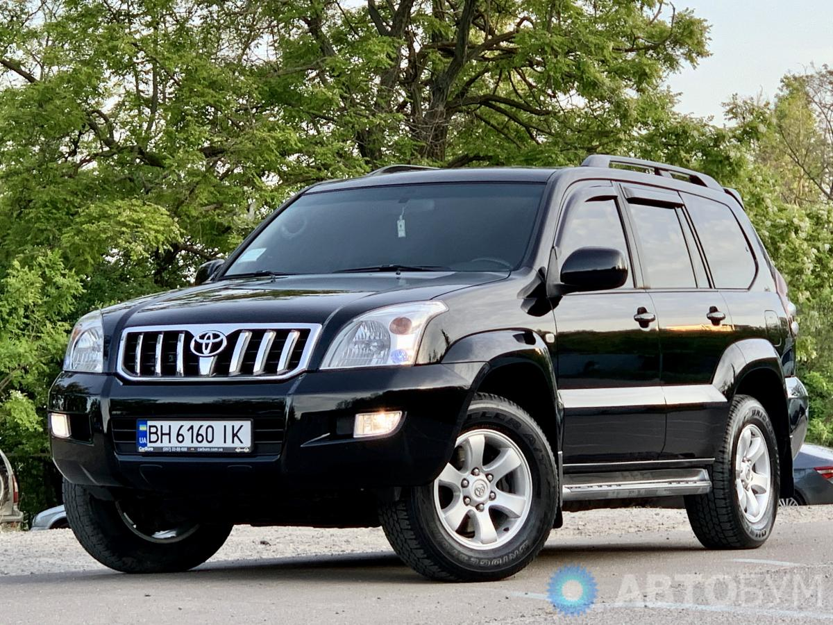 Авто Toyota Land Cruiser Prado 2008 года фото 8