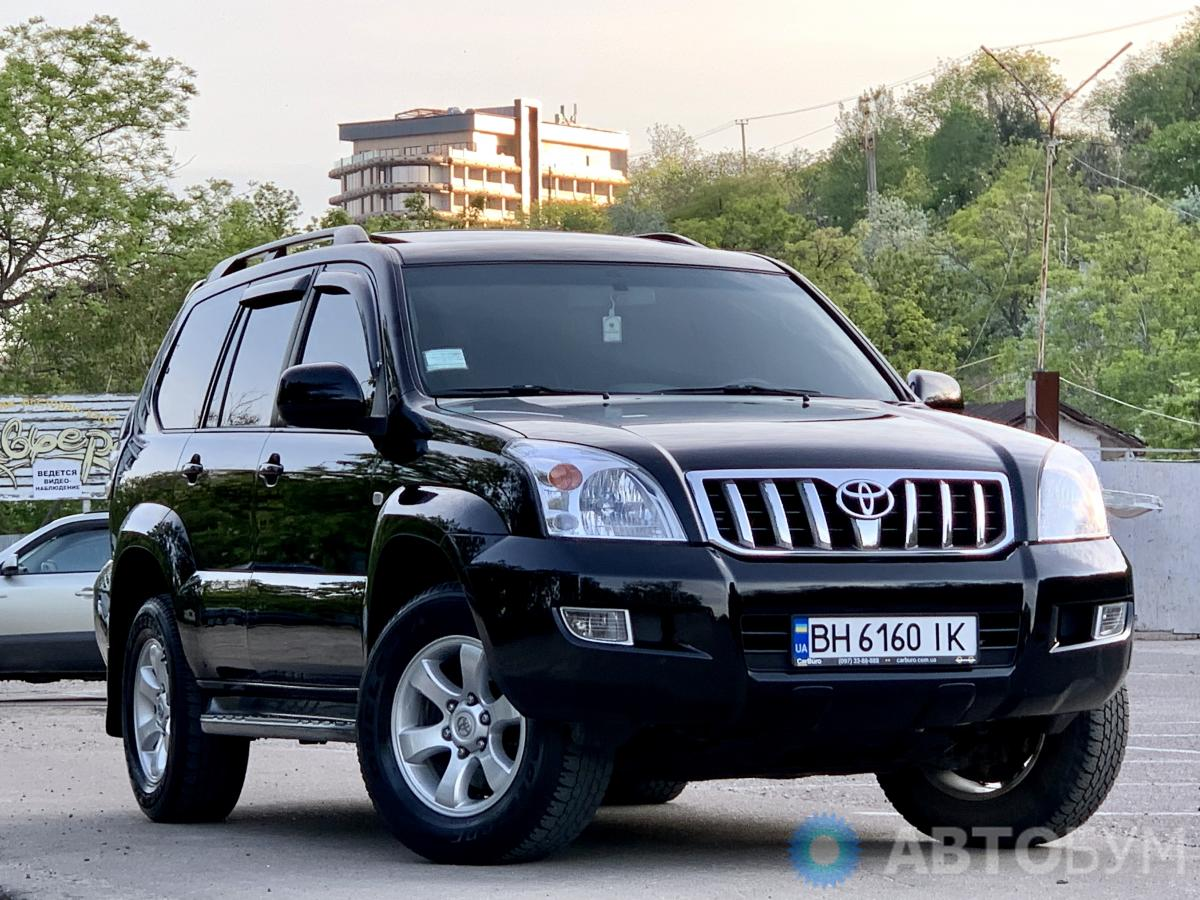 Авто Toyota Land Cruiser Prado 2008 года фото 9