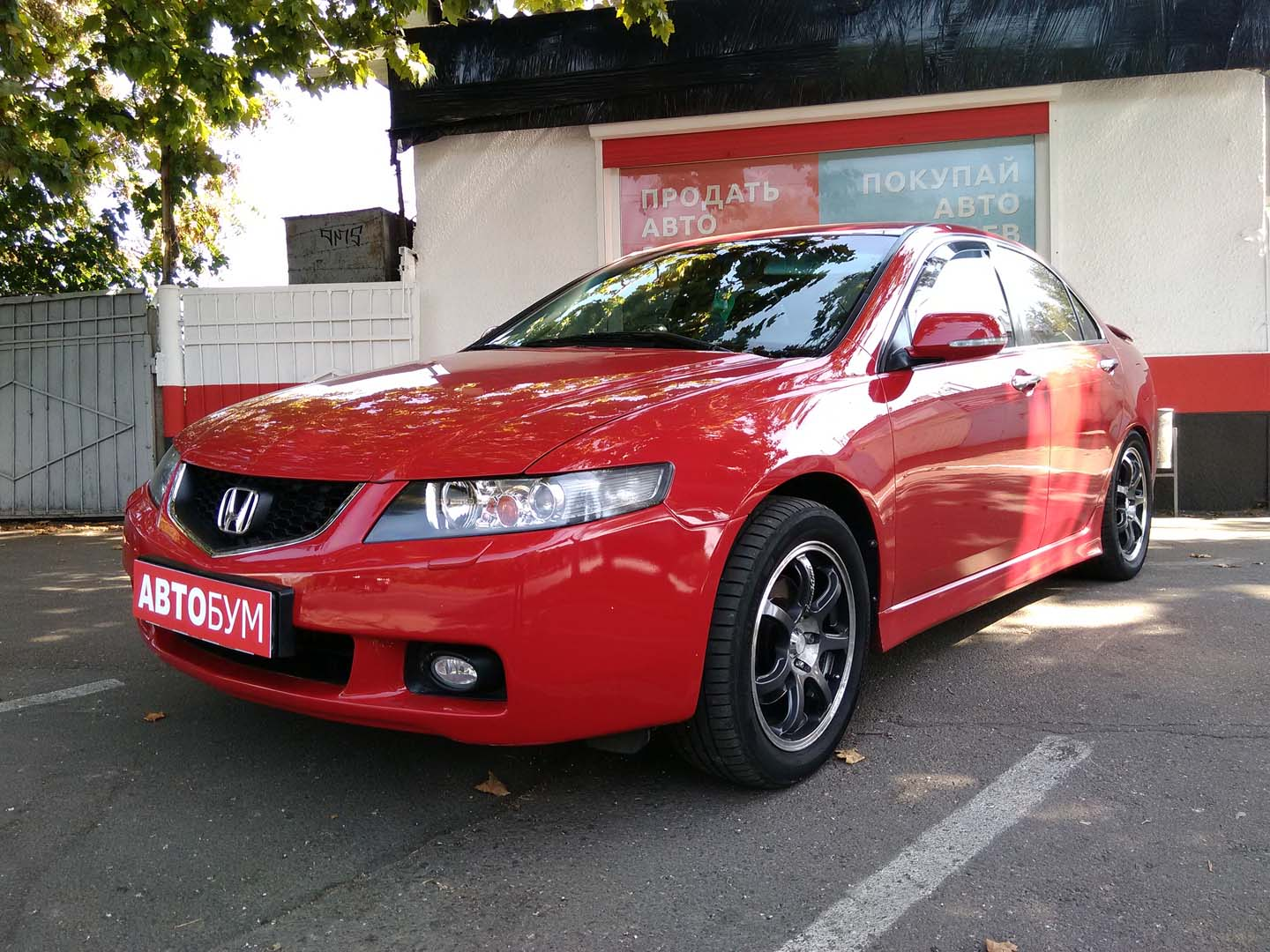 Авто Honda Accord 2004 года - фото