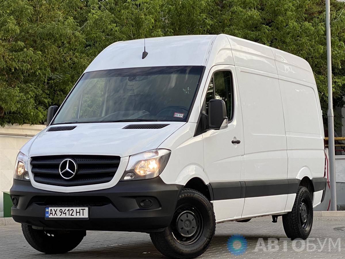 Автобум Mercedes-Benz Sprinter 2016 фото