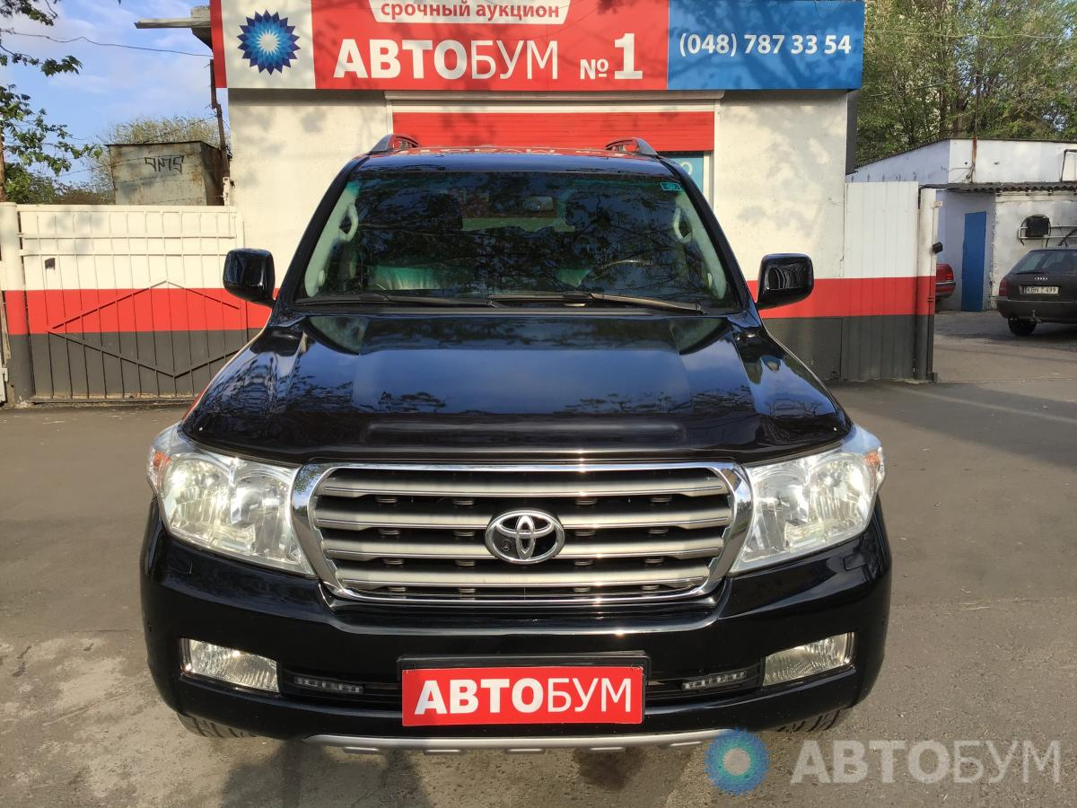 Автоаукцион Toyota Land Cruiser 2008 фото